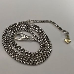 "David Yurman Chain 17-18"" Adjustable"
